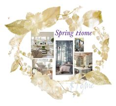 """""""Spring deco"""" by evachasioti ❤ liked on Polyvore featuring interior, interiors, interior design, home, home decor, interior decorating, Spring, Home and deco"""