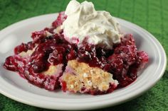 4-Ingredient Berry Cobbler