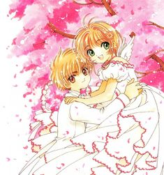 Syaoran and Sakura from Cardcaptor Sakura
