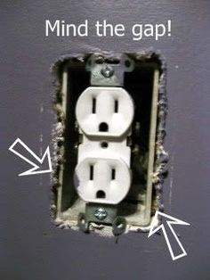 Insulate your outlets to save on heating bills.