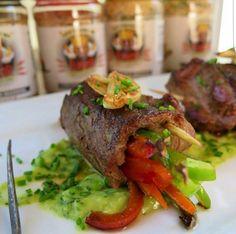 Steak fajita rolls 👌