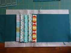 One of my ideas for the Mouthy Stitches pouch swap was a twisted panel, so I made a practice one.....      I posted it in the Flickr group -...