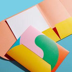 Stationery Design, Brochure Design, One Design, Print Design, Graphic Design, Paper Folder, Footer Design, Creative Hub, Milk Shop
