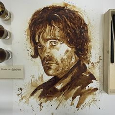It's after 1am here in Cyprus and 2 days 2 hours and 35 minutes till Game of Thrones season 5 premiere. And we are ready! Coffee on Paper #gameofthrones #got #gameofthroneshbo #tyrion #tyrionlannister #peterdinklage #hbo #coffee #coffeepainting #ma_aris #mariaaristidou #mariaaaristidou #coffeeart #arts_help #featuremetricia #jj_coffeebreak #instartpics #blvart #whp #WHPidrewthis