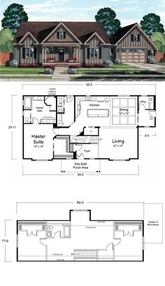 Cape Cod Homes On Pinterest Floor Plans Coastal Cottage