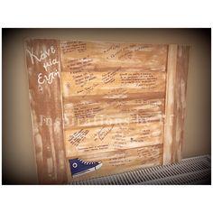 Ξύλινο ταμπλό ευχών σε βάπτιση με θέμα το allstar... Sheet Music, Music Sheets