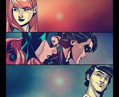 Barbara Gordon and Richard Grayson... they are meant to be! Forever and Always!