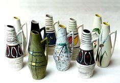 10 Vasen Scheurich,Mod.271-22,50er/60er,Heinz Siery,50s/60s,Keramik,pottery vase | eBay