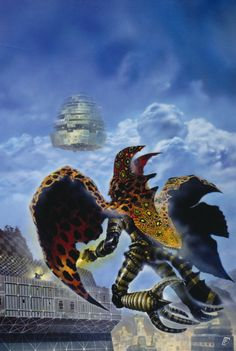 70s Sci-Fi Art: martinlkennedy:   Artwork by Chris Foss 'ORA:CLE'...