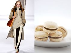 Chloe fw 2011-12 / Almond macarons filled with chocolate