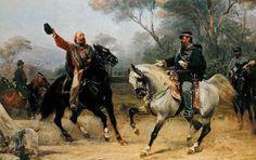 * Garibaldi e Vitor Emmanuel II * (by Sebastiano de Albertis).
