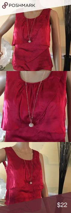 Talbots top Gorgeous top in perfect condition , made of 100% pure silk Talbots Tops Blouses