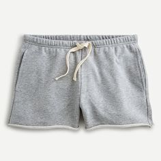 Drawstring Sweatshorts J Crew Outfits, Active Wear For Women, My Wardrobe, Cashmere Sweaters, Mens Suits, Heather Grey, Casual Shorts, The Originals, Swimwear