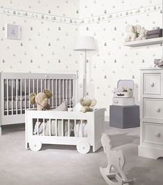 Abecedaire Wallpaper Border From Galerie Wallcoverings Tartine Et Chocolat Collection A Charming Featuring Adorable Cuddly Toys And