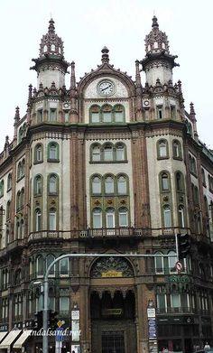 Hungary - Budapest - Párisi Udvar (Parisian Court)