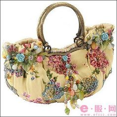 Crochet purse vintage shabby chic best Ideas Source by and purses boho Vintage Purses, Vintage Bags, Vintage Handbags, Shabby Vintage, Unique Purses, Purses Boho, Embroidery Bags, Art Bag, Boho Bags