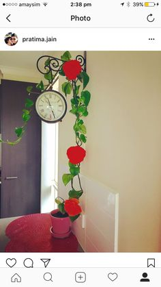 My idea of kitchen wall clock