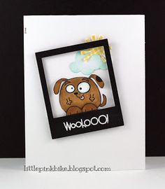 WooHooo! card by Meghan - Paper Smooches -  Chubby Chums set