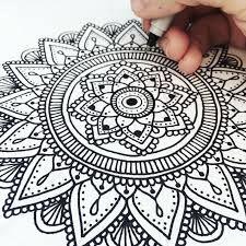 Image result for como dibujar mandalas con compas