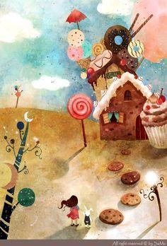 fairytalemood: art by Kim Yoon Hee