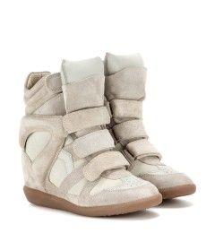 Chaussures De Sport Coin Veau Kaki En Daim Chaussures Vertes Isabel Marant aCqGY