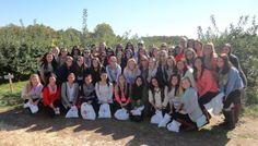 Phi Sigma Sigma Apple Picking! #SisterhoodRetreat #ApplePicking #LITP #AimHigh #PhiSigmaSigma #PhiSig #DeltaEta #UniversityofDelaware #UDel #UD