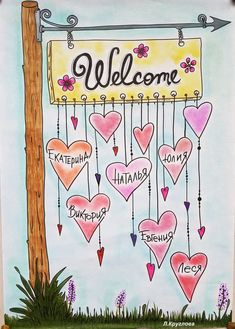Junk Journal, Bullet Journal, Sketch Notes, Doodles, Clip Art, Scrapbook, Lettering, Welcome, Cards