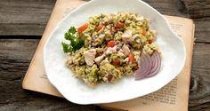Rijstsalade met kip en avocado - Recept | VTM Koken