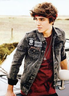 George Shelley for Union J's official 2015 calendar.