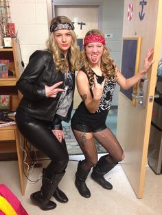 Halloween costume--biker chicks
