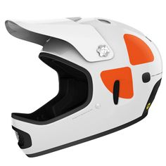 POC - Cortex DH MIPS White Mountain Bike Helmet