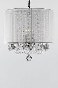 Sparkling Chandelier.  Totally want to DIY this :)