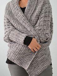 Two-Way Wrap Cardigan