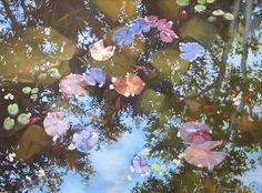 April's Pond by Sheri Farabaugh  ~ 18 x 24