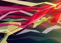 Pop Culture Cubism- Geometric Superhero Series by Liam Brazier