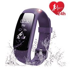 Fitness Tracker Heart Rate Monitor Watch, Letscom Waterproof Activity Tracker with Calorie Counter Pedometer Watch for Kids Women Men - Others Key Features: Call Alert: Device will vibrate and show on screen when there is an incoming call, you can ch Best Fitness Tracker, Waterproof Fitness Tracker, Fitness Watches For Women, Watches For Men, Sport Watches, Best Fitness Watch, Tory Burch, Calorie Counter, Heart Rate Monitor