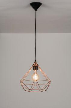 Apropiada para LED . rojo cobrizo . Tienda Lámparas Para Sala . Decoración…