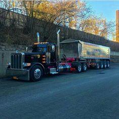 Peterbilt Dump Trucks, Peterbilt 389, Chevy Trucks, Train Truck, Tow Truck, Truck Mechanic, Road Train, Big Rig Trucks, Semi Trucks