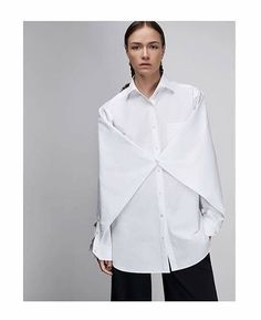 Oversize blouse | AW16/17 | soon in @cornerconceptstore | photo @antonkovalenko styling @nadiiashapoval | #bevza #heritage #aw16