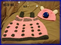 Dalek Baby Outfit Doctor Who Photo Prop by alillama88 on Etsy, $30.00 This is one of the most awesome things ever! I sooo need someone to make me this if I ever have a little girl!!!