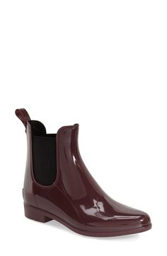 Sam Edelman 'Tinsely' Rain Bootie (Women) at Nordstrom.com. The traditional Chelsea boot goes waterproof in glossy and playful PVC.