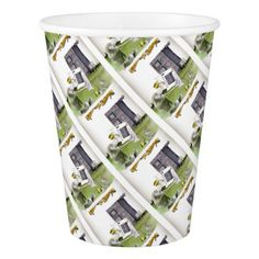 love yorkshire 'ey up jobs a good 'un' paper cup - love gifts cyo personalize diy