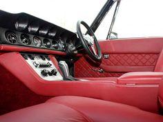 Jensen Interceptor R Interior - 2011 Car Interior Upholstery, Automotive Upholstery, Jensen Interceptor, Mens Toys, British Sports Cars, Mode Of Transport, Car Manufacturers, Car Photos, Motor Car