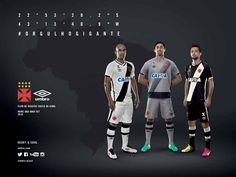 Camisas do Vasco da Gama 2016-2017 Umbro