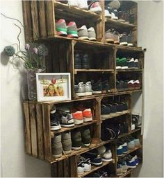 What A Fabulous Idea For Someone Who Has A Small Garage And Needs Storage Space, Plus It Looks Awesome! I Love All Of The Geniuses Out There! What A Clever And Simple Fix To A Big Problem!
