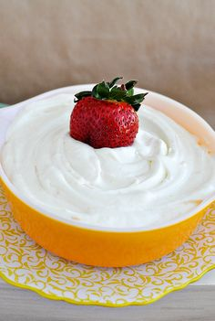 Light and fluffy amazingly delicious Citrus Fruit Dip -  This is sooo good.    Thirty Handmade Days