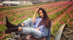 Spring lookbook 2 comin soon #lookbook #fashionblog #fashion #fashionista #fashiondiaries #photography #spring #springbreak #flowerfield #carlsbadflowerfields #carlsbad #bench #model #posture #talent #boots #shorts #croptop #stripes #sunglasses #streetstyle #style #oftd #outfit #trend #chicstyle #girlstyle #california #freestyle #streetclothes #sandiego #sandiegoconnection #sdlocals #carlsbadlocals - posted by Bem Nguyen https://www.instagram.com/bemnguyen28. See more post on Carlsbad at…