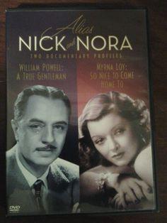 Nick & Nora Myrna Loy William Powell Kathleen Turner Kevin Kline DVD Documentary