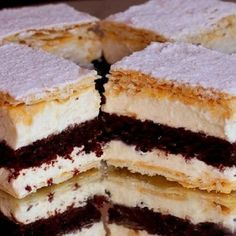 143320_2 Hungarian Desserts, Romanian Desserts, Hungarian Recipes, My Recipes, Sweet Recipes, Cookie Recipes, Delicious Desserts, Yummy Food, Croatian Recipes