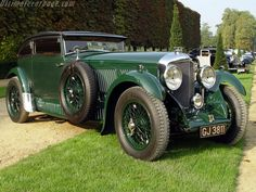 1930 - Bentley Speed Six Blue Train Special